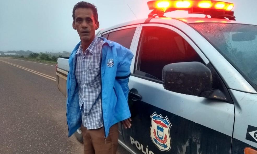 Claudemir Martins Mendes foi preso em Guiratinga  (Foto: Polícia Civil-MT/ Divulgação)