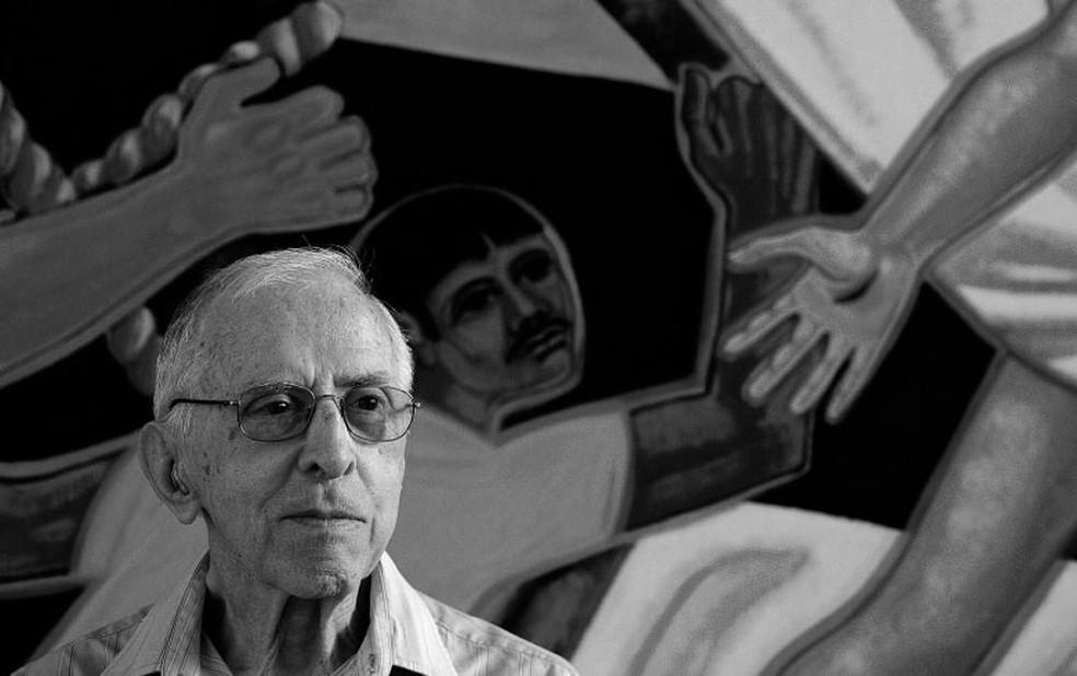 Dom Pedro Casaldáliga morreu aos 92 anos — Foto: Arquivo pessoal
