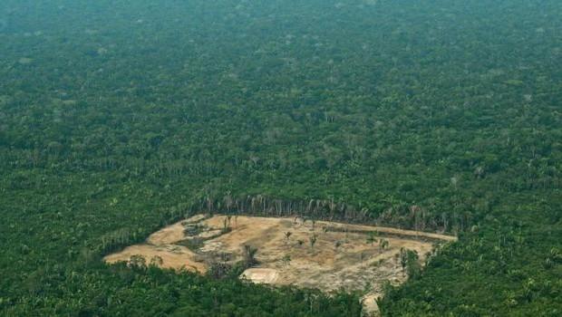 Desmatamento da Amazônia, em foto de 2018 (Foto: AFP - via BBC News)