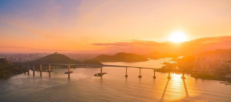 Terceira Ponte entre Vitria e Vila Velha Foto Yuri Barichivich On Filmes