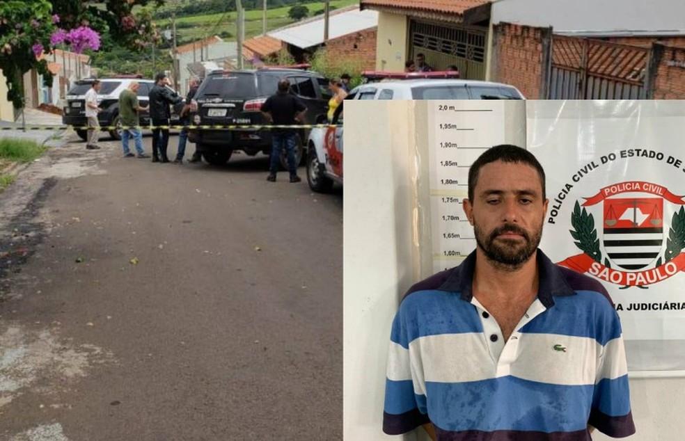 Suspeito foi preso uma semana após cometer o crime em São Carlos — Foto: A Cidade ON/São Carlos