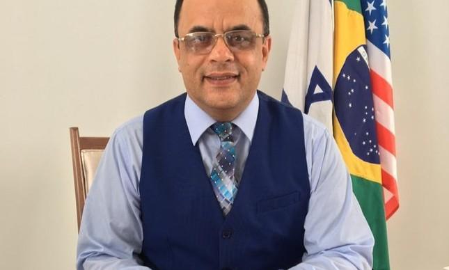 O reverendo Amilton Gomes de Paula, presidente da Senah