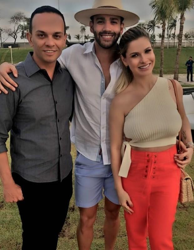 Gusttavo Lima comemora os 29 anos com amigos e familiares (Foto: Reprodução/Instagram)