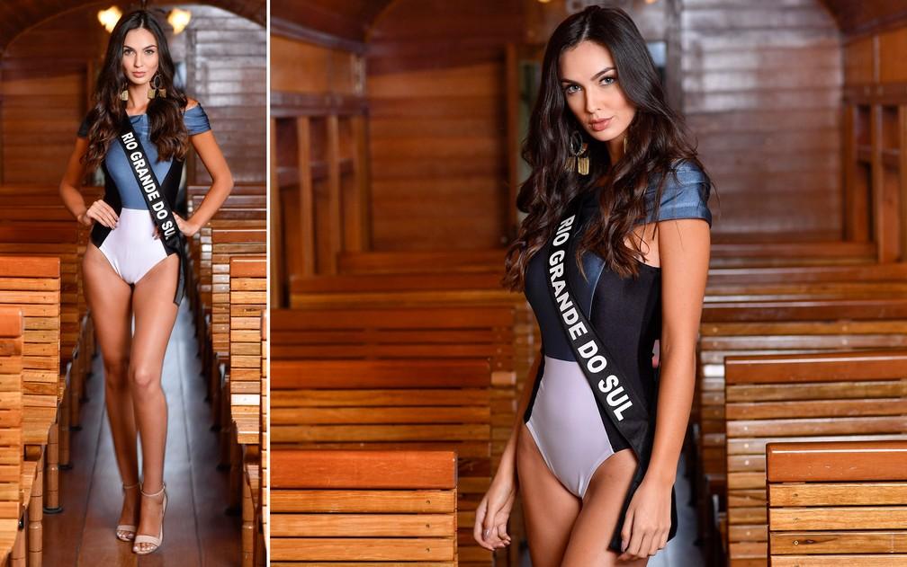 Bianca Scheren, 20 anos, modelo, é a Miss Rio Grande do Sul — Foto: Rodrigo Trevisan/Divulgação/Miss Brasil