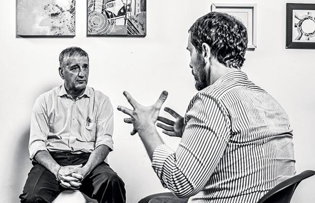 Marco Stefanini, Fundador e presidente global da Stefanini e Cassio Bobsin, Ceo da Zenvia  (Foto: Arthur Nobre)