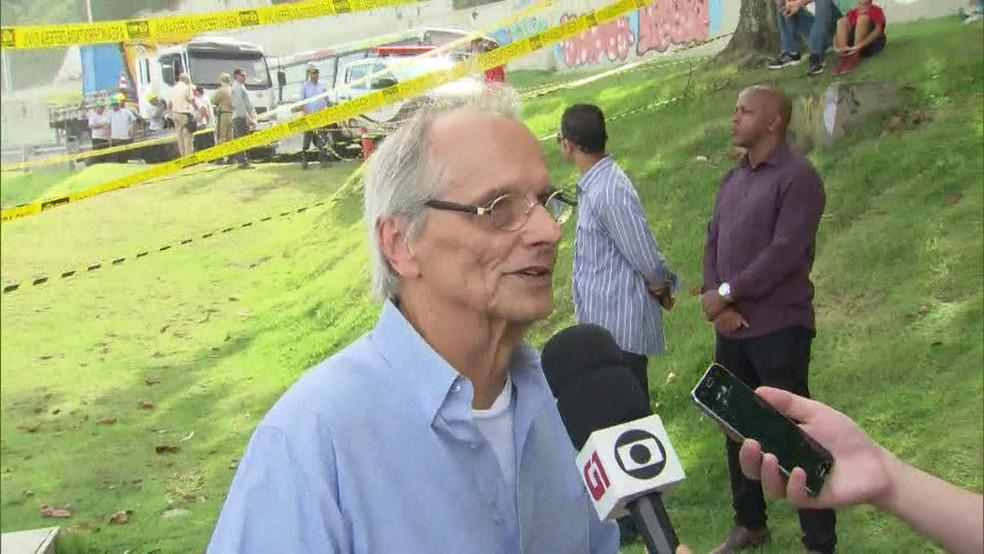 Fernando Mac Dowell, vice-prefeito do Rio (Foto: Reprodução/TV Globo)