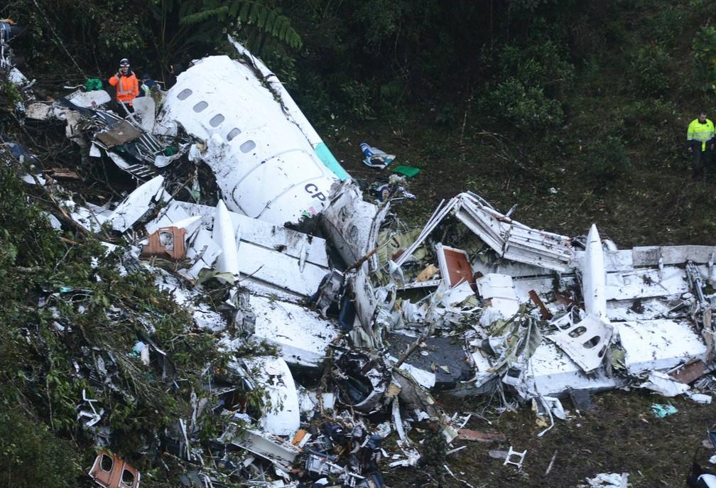 Tripulante da Avianca revela diálogo piloto de voo acidentado da Chapecoense (Foto: Luis Benavides/AP)
