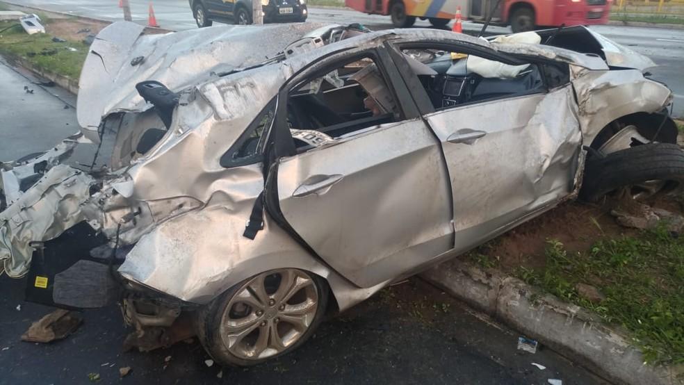 Ricardo Dantas Cortez seguia em direção a Parnamirim, quando perdeu o controle do veículo (Foto: Divulgação/PRF)