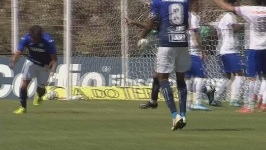 Fabrício Oya destaca importância de gol, que foi dado a Wesley, na vitória do São Bento