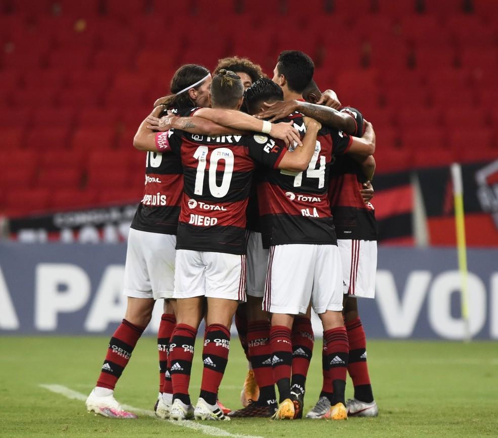 Flamengo vence o Sport no Maracanã — Foto: André Durão