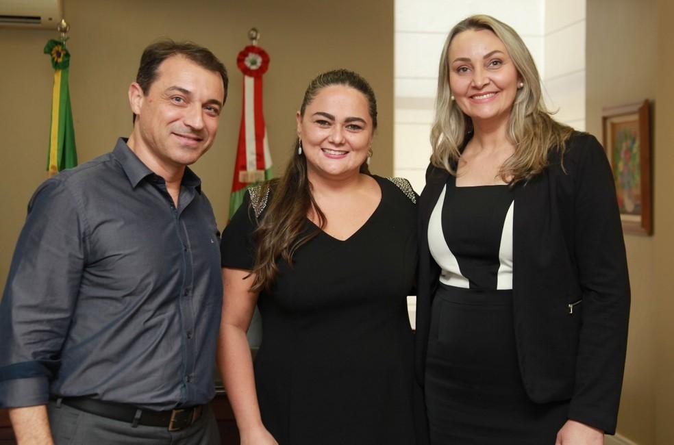 Célia Iraci da Cunha (ao centro) vai ser a procuradora-geral do Estado. — Foto: Susi Padilha