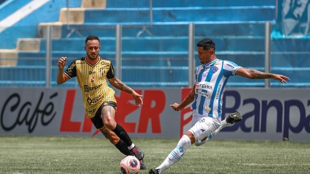 Paysandu e Castanhal empataram em 1 a 1 na Curuzu
