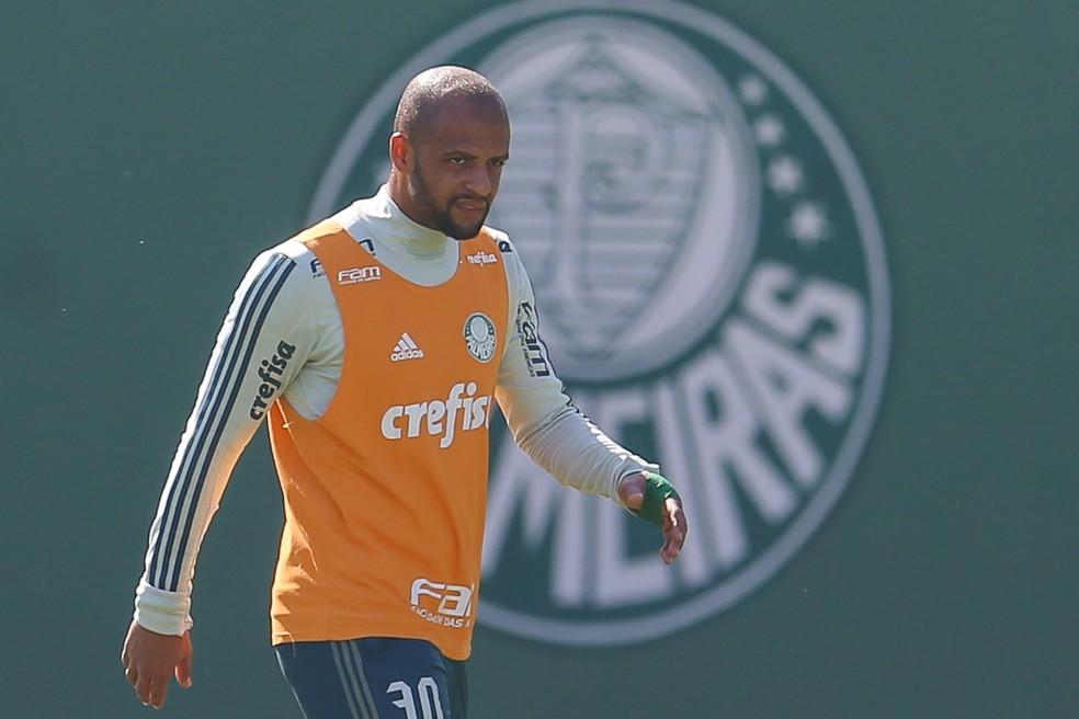 Felipe Melo não joga mais pelo Palmeiras (Foto: Jales Valquer / Estadão Conteúdo)