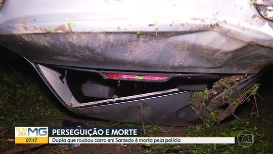 Dois homens suspeitos de roubar carro morrem durante troca de tiros com a Polícia Militar