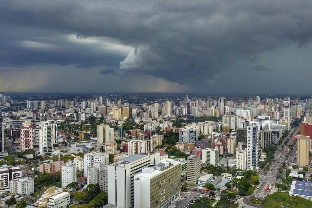 Novo ciclone se aproxima do Paraná com menor intensidade — Foto: Divulgação/José Fernando Ogura/AEN