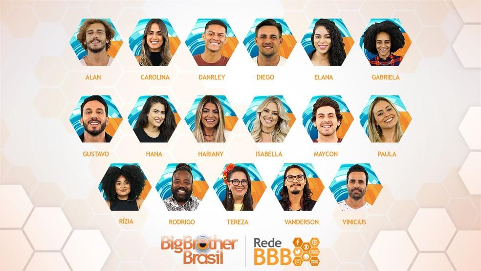 participantes do BBB19 — Foto: Gshow