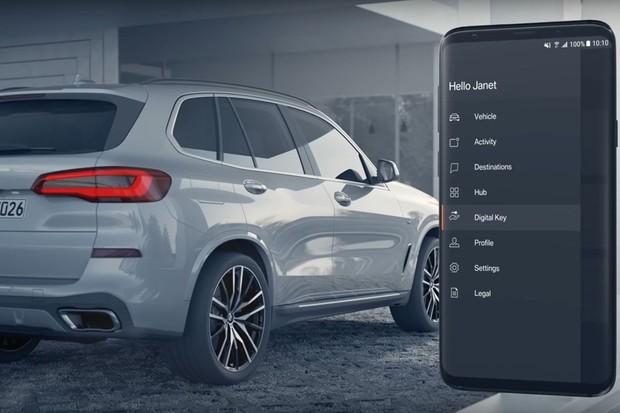 BMW Digital Key Celular (Foto: Divulgação)