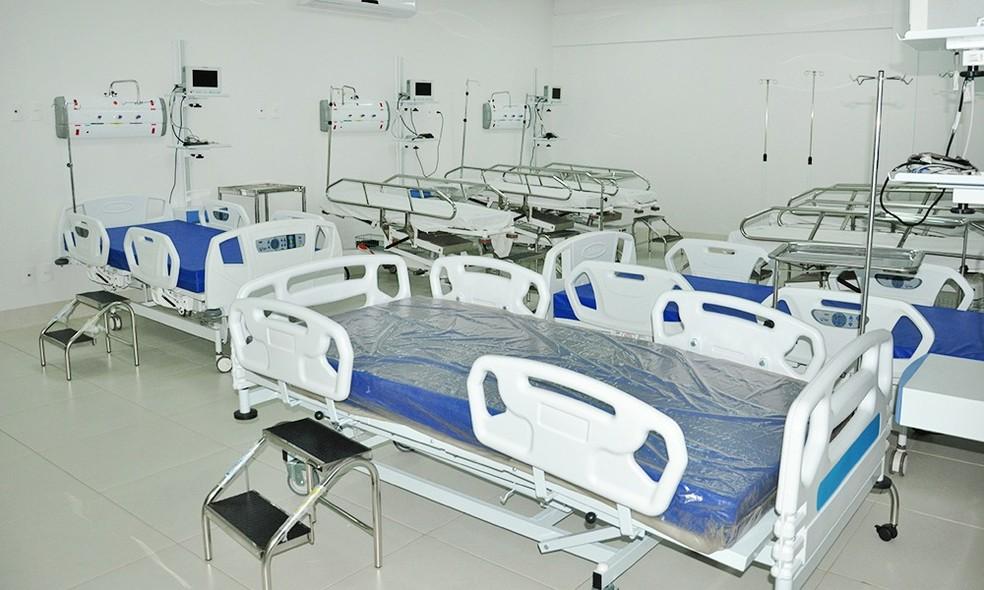 Leitos de UTI estão bloqueados em quatro hospitais do Tocantins — Foto:  Esequias Araújo/Governo do Tocantins/Divulgação