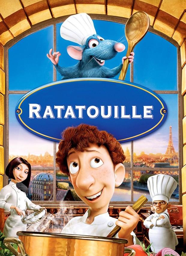 Pôster do filme Ratatouille (Foto: Divulgação)
