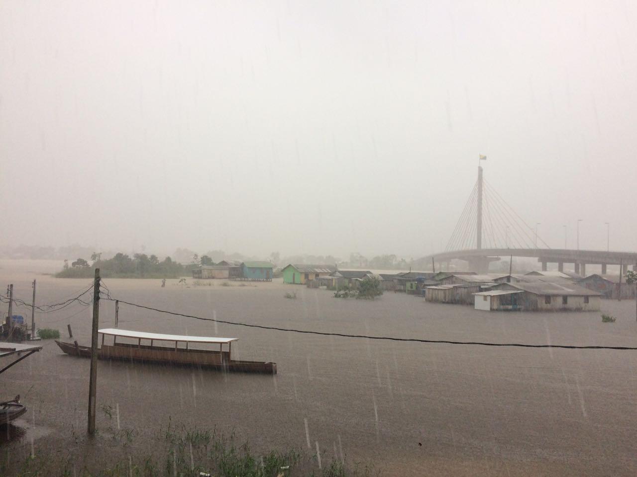 Sipam prevê chegada de frente fria de intensidade fraca no Acre nesta terça-feira (7)