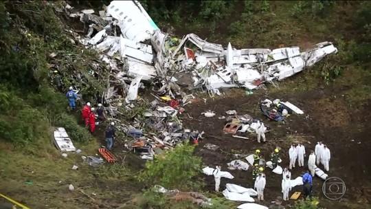 Piloto e LaMia são responsáveis por queda de avião, conclui investigação