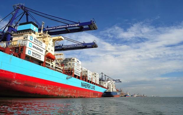 Porto de Paranaguá - porto - exportação - importação - contêiner  (Foto: IvanBueno/Fotos Públicas)