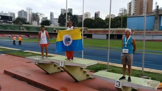 Aos 62 anos, atleta santareno conquista medalhas em maratona realizada em São Paulo