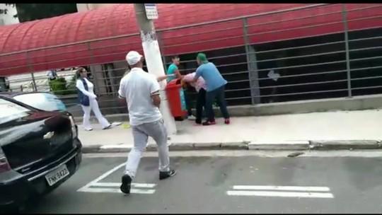 Agente de fiscalização de trânsito é agredida no ABC Paulista