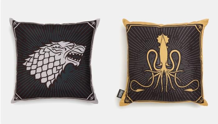 Almofadas de Game of Thrones (Foto: Divulgação)