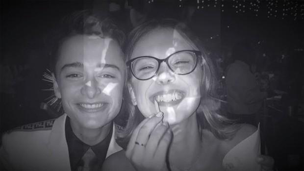 Millie Bobby Brown e Noah Schnapp  (Foto: Reprodução / Instagram)