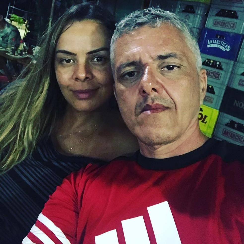 Pedro Jorge Brasil e a mulher, Hedvane Ferreira, presos na Operação Trickster (Foto: Facebook/Reprodução)