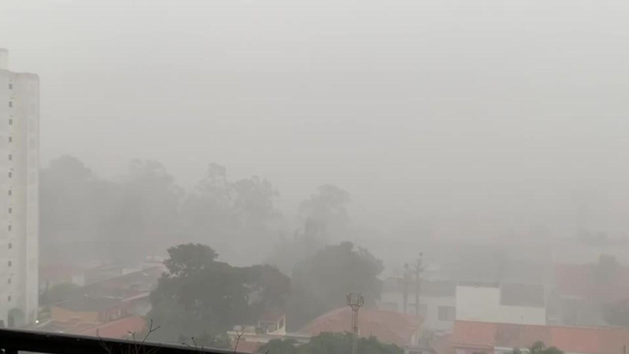 Chuva forte atinge bairros da Zona Sul de São Paulo nesta quarta-feira