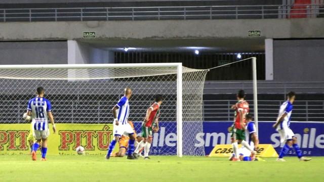 CSE empata o jogo com um gol de Juliano