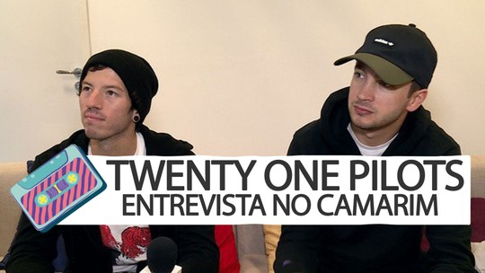 Twenty One Pilots elogia empolgação dos fãs, no camarim do Lollapalooza: 'Especial para nós'