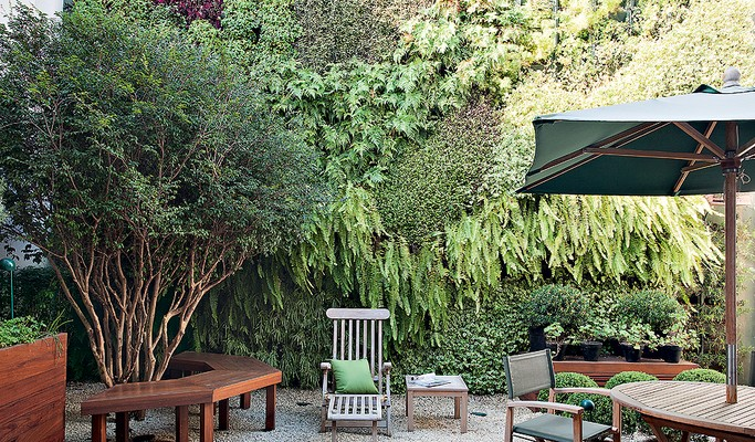 10 cantos charmosos para relaxar no jardim
