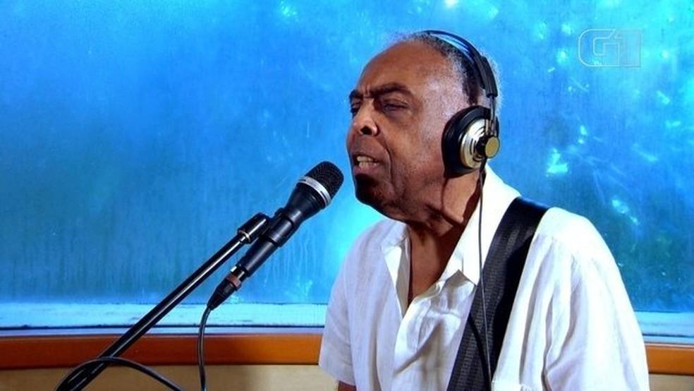 Gilberto Gil — Foto: Reprodução/TV Globo
