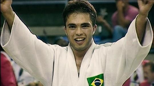Medalha de ouro olímpica de Rogério Sampaio completa 25 anos