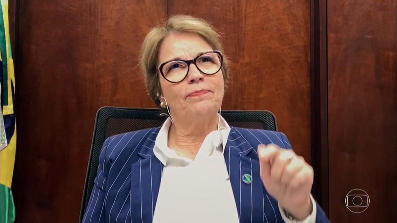 Tereza Cristina fala sobre os apelidos que recebeu durante sua história na política