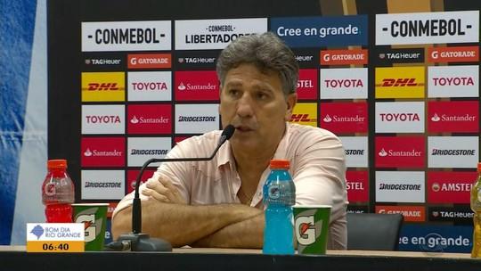 Renato completa dois anos como técnico do Grêmio, e presidente já sonha com renovação para 2019