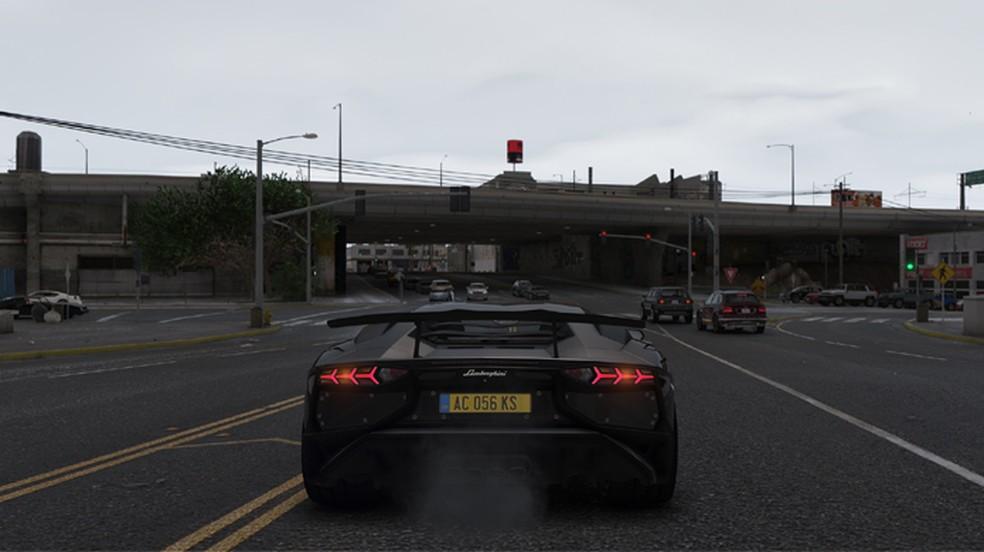 Mod NaturalVision Remastered para GTA 5 deixa o game com um visual impressionante e realista (Foto: Reprodução/GTA5-Mods)
