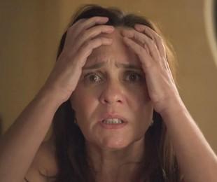 Adriana Esteves em 'Amor de mãe' | Reprodução