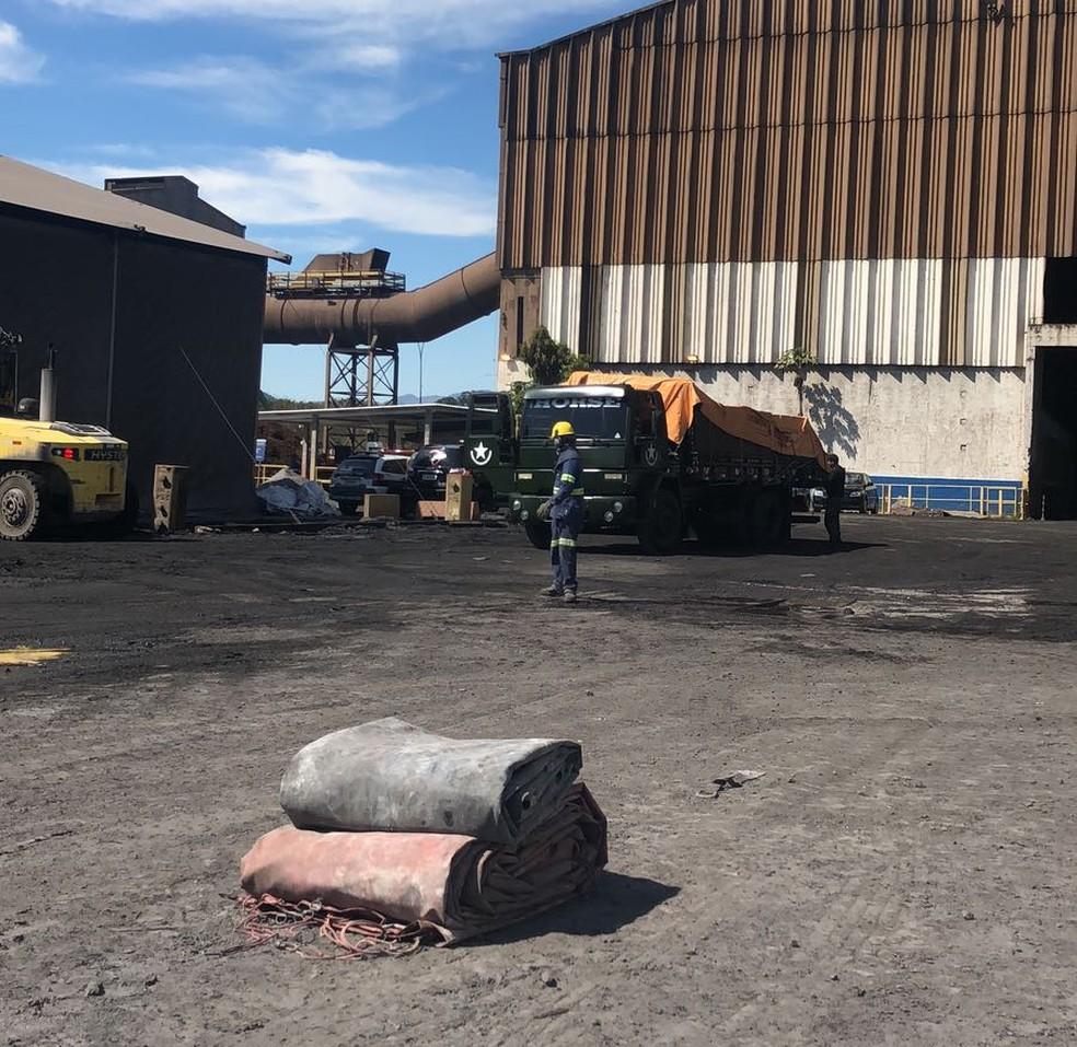 Material incinerado foi apreendido em ações da Seccional da Polícia Civil de São Bernardo do Campo (Foto: Divulgação/ Polícia Civil)