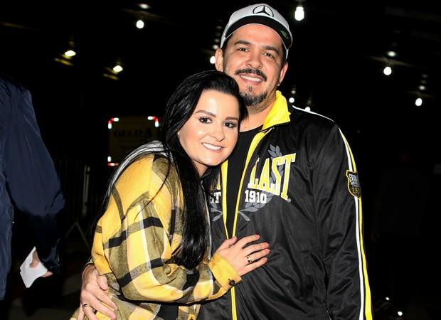 Maraisa e o namorado, Wendell Vieira (Foto: Eduardo Martins e Thiago Duran/AgNews)