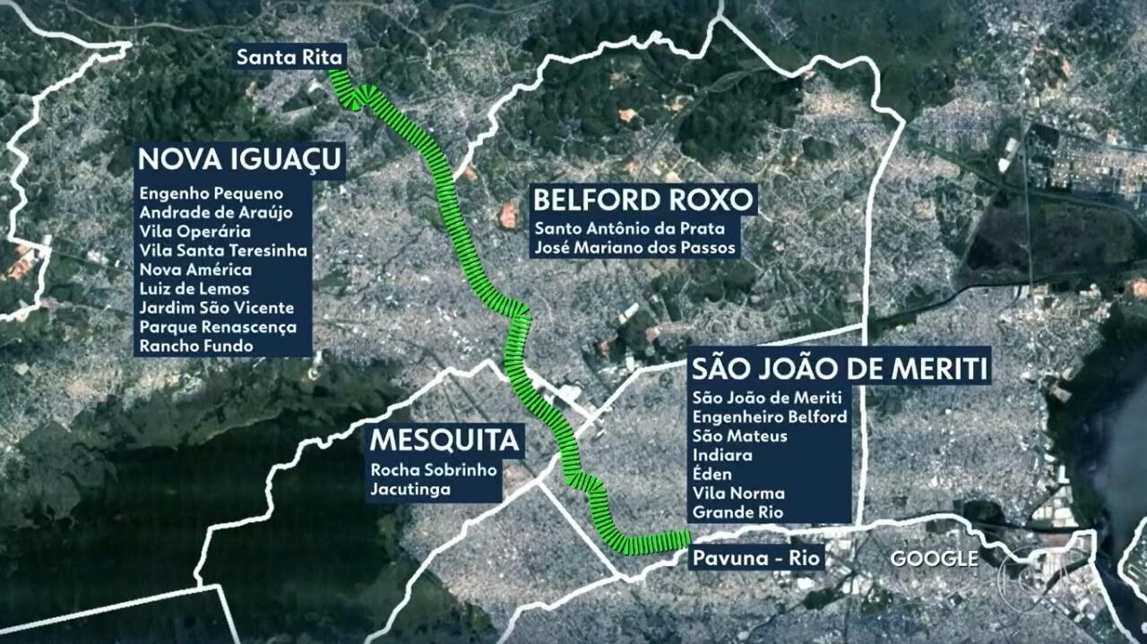 RJ estuda projeto de metrô que ligaria a Pavuna, no Rio, até Nova Iguaçu, na Baixada Fluminense