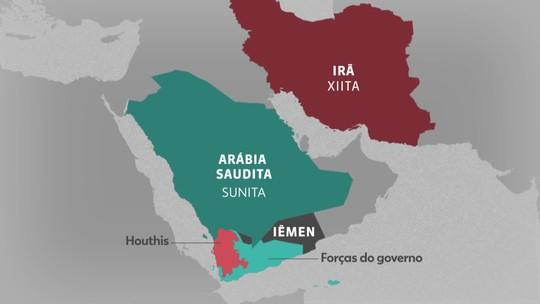Arábia Saudita e Irã disputam influência no Oriente Médio