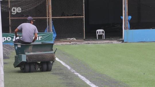 Nivelamento e irrigação: São José troca gramado para facilitar estilo de jogo e reduzir calor