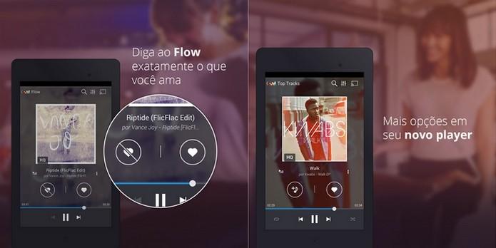 Deezer ganha nova interface para Android e destaca Flow (Foto: Divulgação)