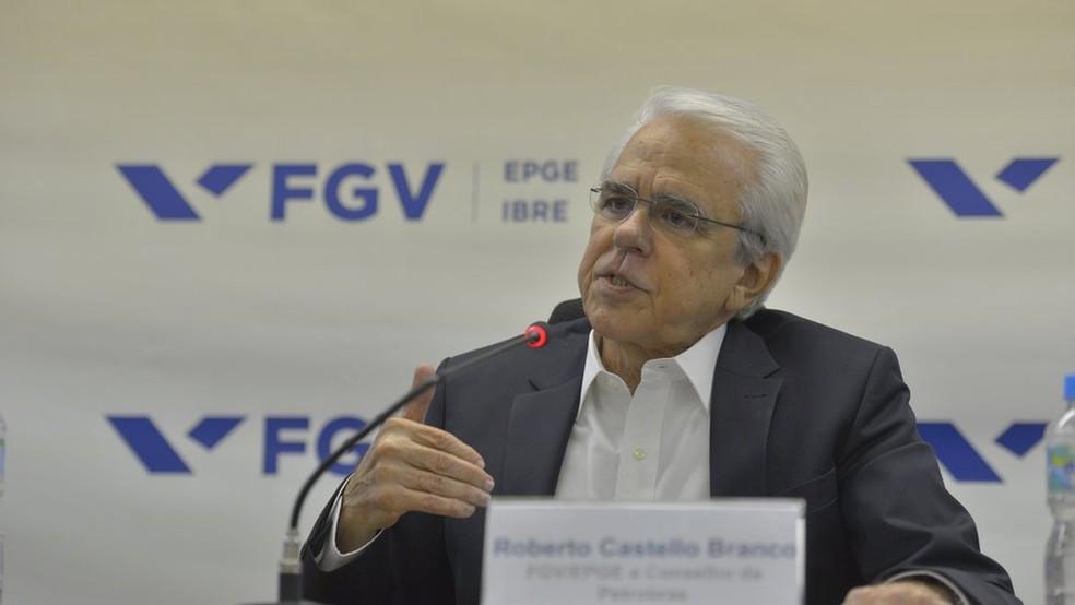 Foto de arquivo: Roberto Castello Branco em 2018 — Foto: Divulgação/FGV