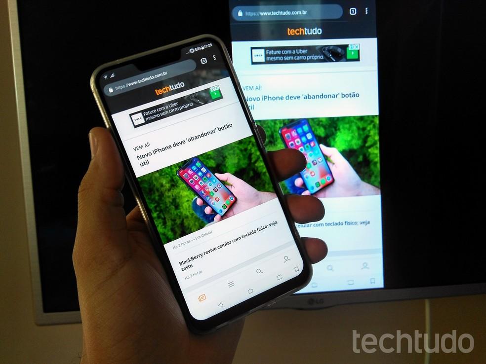 Como espelhar a tela do celular na TV da LG   TVs   TechTudo