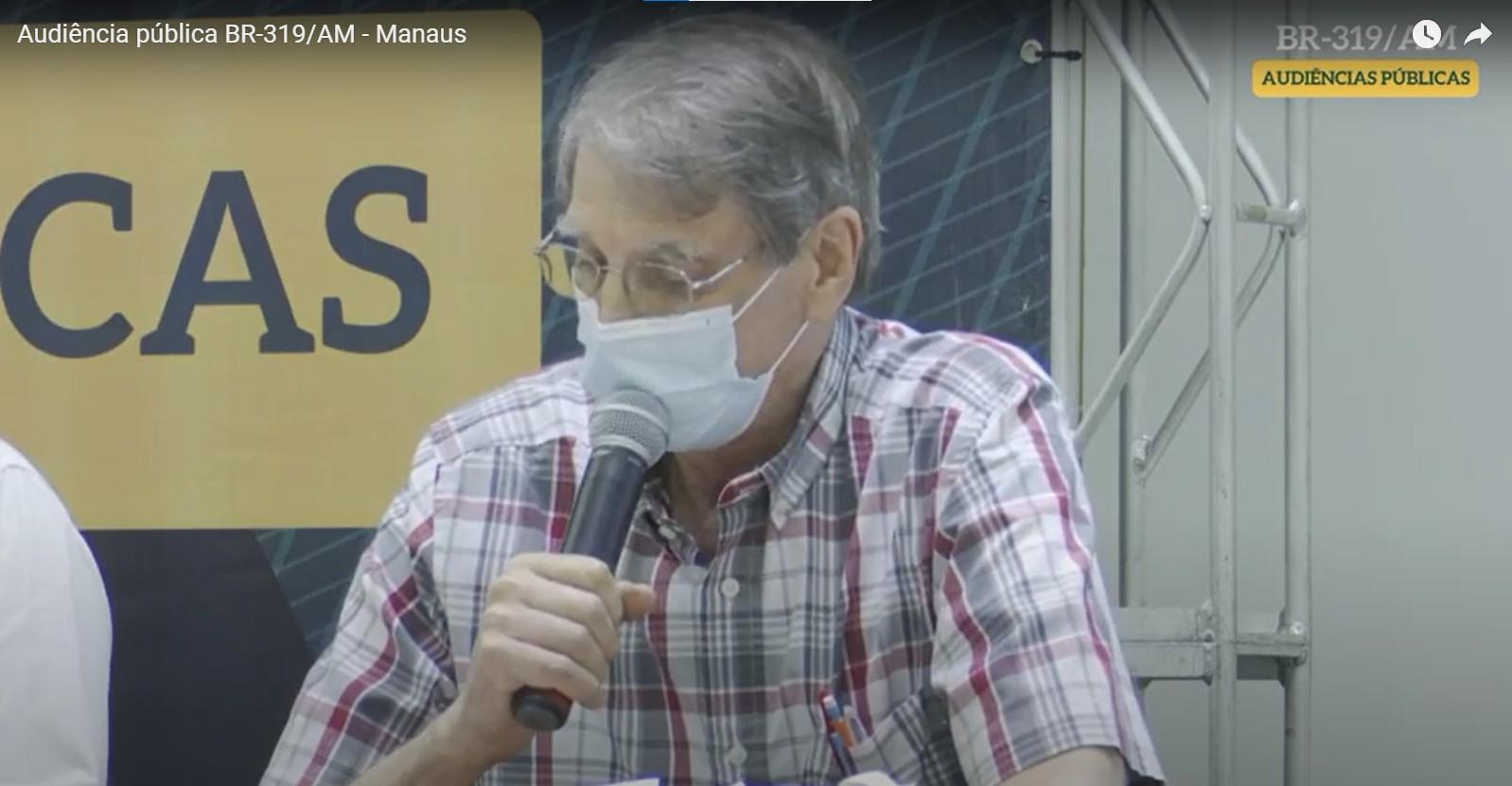 Pesquisador do Inpa é alvo de ataque xenófobo em audiência pública sobre a BR-319 no Amazonas